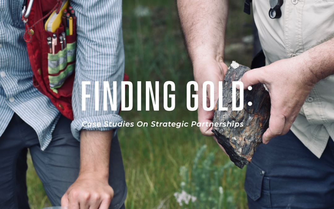 Finding Gold: Case Studies On Strategic Partnerships
